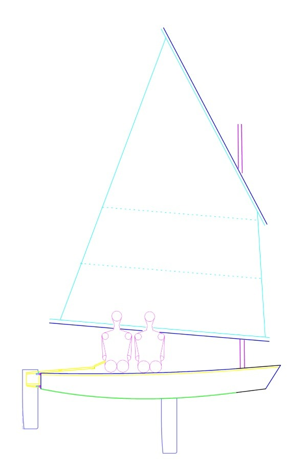 Oz Goose sailplan Philippines Mk4 - oz goose sailboat