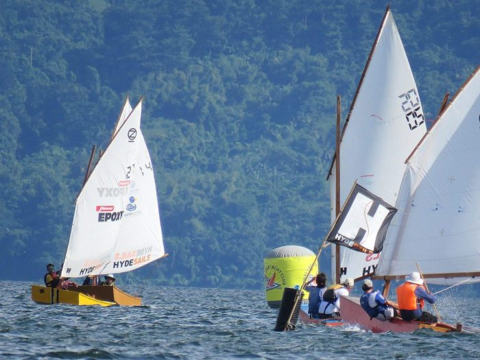 Start sailing at your  sailing club cheaply. One or  two crew in a Oz goose - sailing national titles championships 2017.