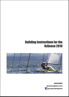 oz goose, PD Goose, Puddlegoose plan 2016 - open goose and storer boat plans