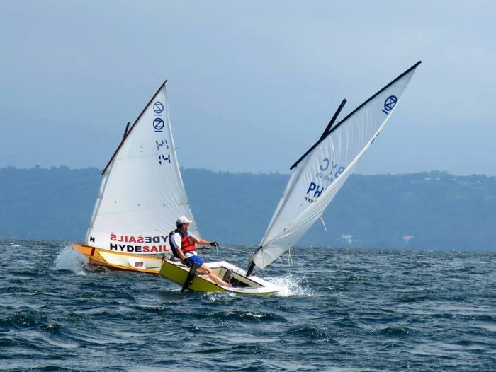 sailing and paralympic sailing for developing nations - 10 boats for the price of one Laser