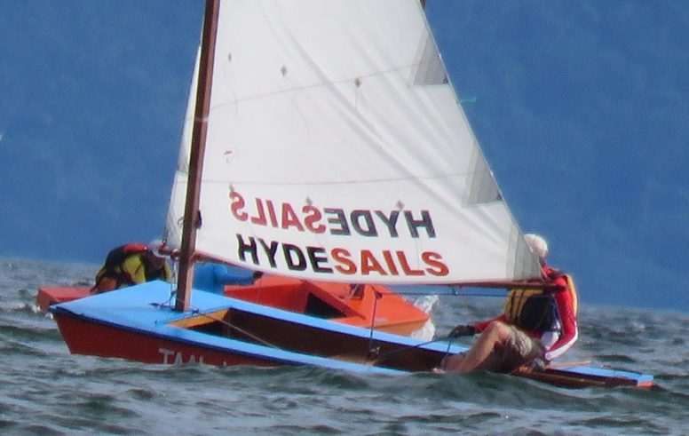 Racing cheap sailing boats - Hyde Sails Oz Goose Nationals Philippines 2017
