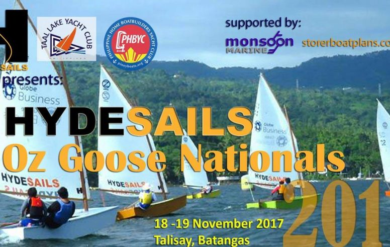 First Oz Goose National Titles Philippines - oz goose sailing dinghy