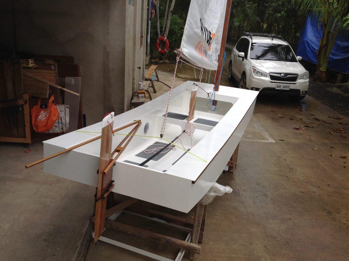 Oz Goose sailboat plans in Magyar Hungarian